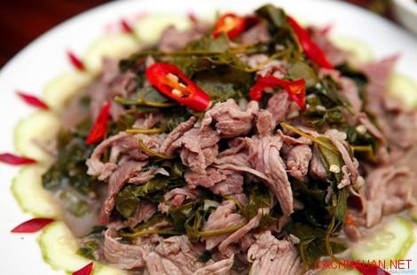 mon ngon dac san hoa binh 8 10 món ăn đặc sản không thể quên của Hòa Bình