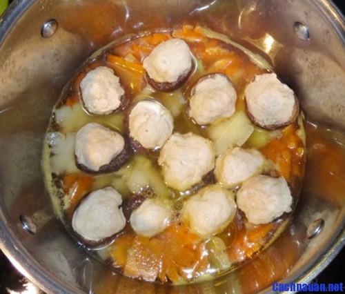 huong dan nau canh moc nam huong - Cách nấu món canh mọc nấm hương