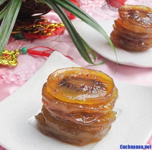 mut kiwi - Cách làm mứt kiwi chua ngọt đón Tết