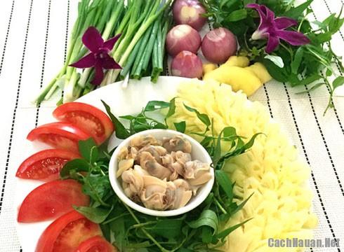 Canh ngao nau dua tai nha - Cách nấu canh ngao chua thơm ngon đặc biệt