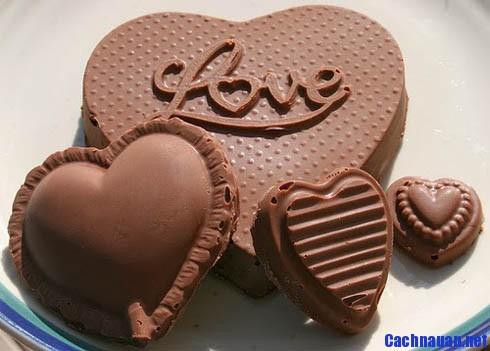 cach lam socola 3 - Hướng dẫn cách làm socola tặng người ấy trong ngày Valentine