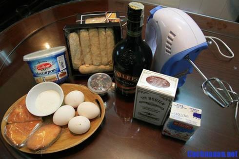 cach lam tiramisu - Hướng dẫn cách làm bánh Tiramisu hương vị yêu thương