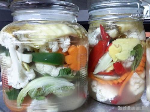 cach muoi rau cu ngon - Mẹo làm rau củ muối chua ngọt ngon cơm