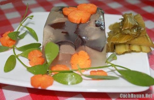 cach nau thit dong ngon - Hướng dẫn cách nấu thịt đông thơm ngon cho ngày lạnh