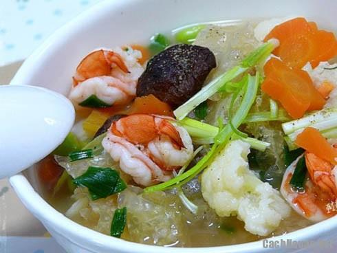 canh bong tha - Ba món ăn truyền thống vắng bóng trong mâm cỗ Tết hiện đại