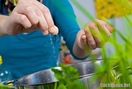 dung hat nem hay muoi iot - Có nên dùng bột nêm thay muối?