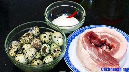 nguyen lieu lam mon thit kho tau - Hướng dẫn cách làm món thịt kho tàu hương vị miền Bắc