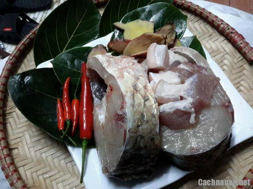 nguyen lieu nau ca kho - Hướng dẫn kho cá thơm ngon như làng Vũ Đại