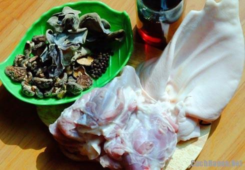 nguyen lieu nau thit dong - Hướng dẫn cách nấu thịt đông thơm ngon cho ngày lạnh