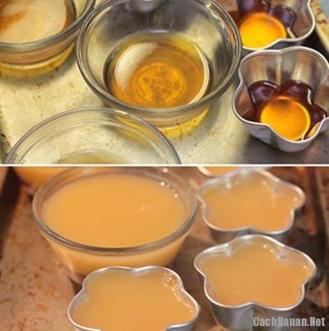 cach lam banh pudding ca phe 3 - Cách làm bánh pudding cà phê mềm mịn hấp dẫn