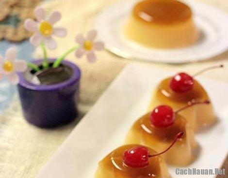 cach lam banh pudding ca phe 4 - Cách làm bánh pudding cà phê mềm mịn hấp dẫn