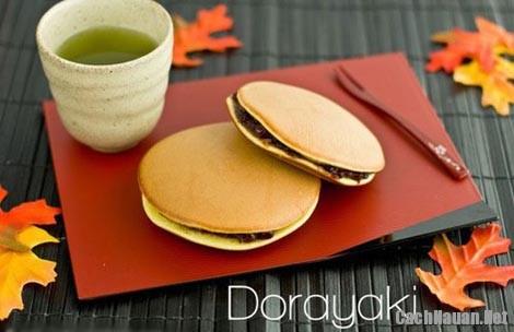 cach lam banh ran dorayaki 1 - Cách làm bánh Dorayaki quyến rũ lòng người