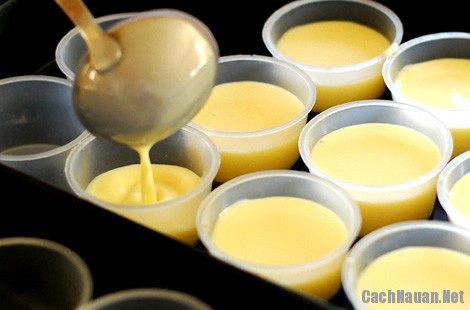 cach lam kem flan - Hướng dẫn cách làm kem flan thơm ngon béo ngậy