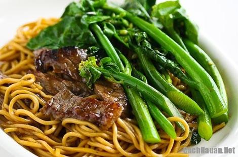 cach lam my xao thit bo rau cai 10 - Cấu nấu mỳ xào thịt bò rau cải thơm ngon mà đơn giản