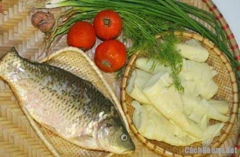 canh ca nau mang tuoi - Cách nấu canh cá với măng chua tuyệt ngon