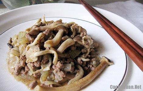 mon thit bo xao nam - Cách làm thịt bò xào nấm thơm lừng ngon cơm