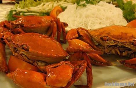 nguyen lieu lam lau cua bien - Cách làm lẩu cua biển ngon như nhà hàng