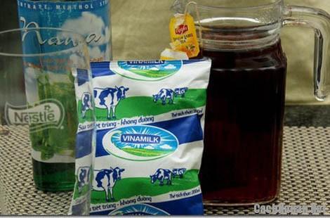 cach lam tra sua - Hướng dẫn cách làm trà sữa ngon mát, giải nhiệt ngày hè