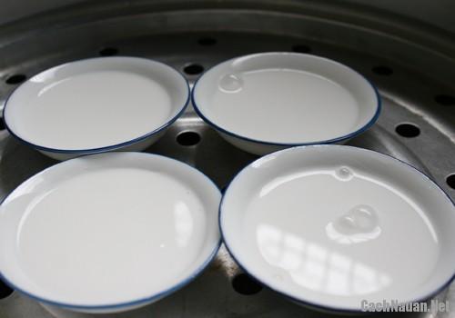 cach lam banh beo nhan deo - Cách làm bánh bèo nhân dẻo chuẩn vị miền Trung