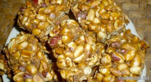 cach lam keo lac 1 - Cách làm kẹo lạc giòn thơm xứ Lạng