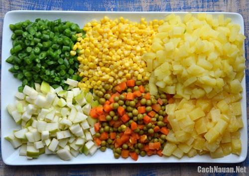 cach lam salad nga ngon - Cách làm salad Nga thơm ngon mà không ngán