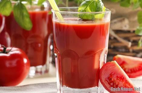 cach lam sinh to ca chua 5 - Cách làm sinh tố cà chua giúp giảm cân, thanh nhiệt cơ thể