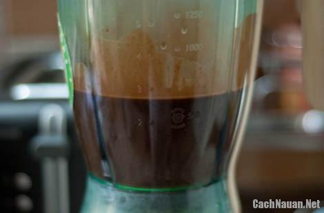 cach lam sinh to socola 1 - Cách làm sinh tố socola ngọt ngào, hấp dẫn