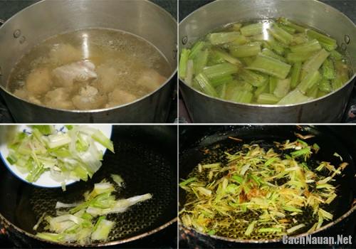 canh atiso ngon 1 - Cách nấu canh atiso ngon mát, lạ miệng