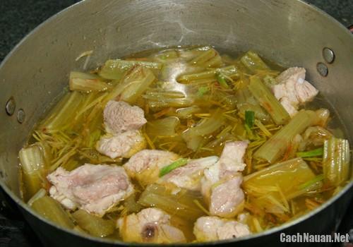 canh atiso ngon 2 - Cách nấu canh atiso ngon mát, lạ miệng