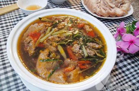 canh cua rau rut 8 - Cách nấu canh cua rau rút ngon mát
