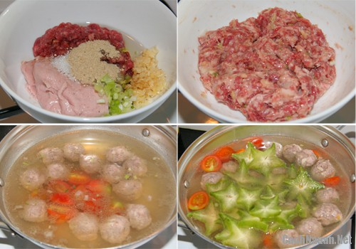 canh khe nau thit bo 1 - Cách làm canh khế nấu thịt bò ngon mát