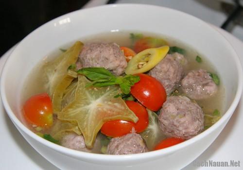 canh khe nau thit bo 3 - Cách làm canh khế nấu thịt bò ngon mát