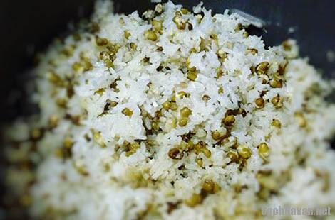 nau xoi dau xanh - Cách nấu xôi đậu xanh ngon, tiện lợi với nồi cơm điện