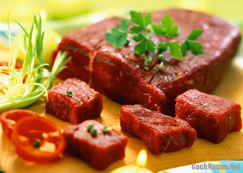 phan biet thit trau thit bo - Cách phát hiện thịt trâu giả thịt bò
