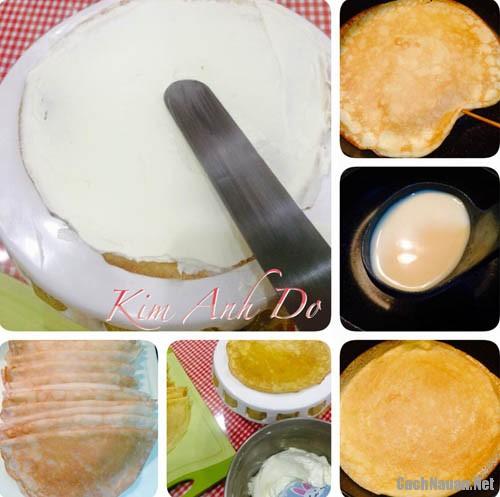banh crepe an sang 6 - Cách làm bánh crepe làm bữa sáng cho bé