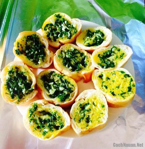 banh mi nuong bo toi - Cách làm bánh mì nướng bơ tỏi cho bữa sáng