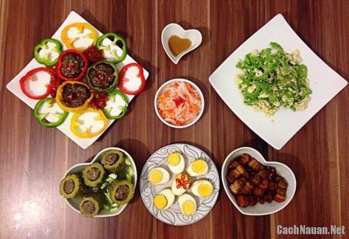 bua an 115 nghin - Bữa cơm gia đình 115 nghìn hấp dẫn đầy màu sắc