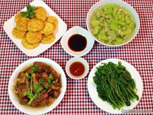 bua com 102 nghin - Bữa ăn chiều 102 nghìn dễ nấu, ngon miệng