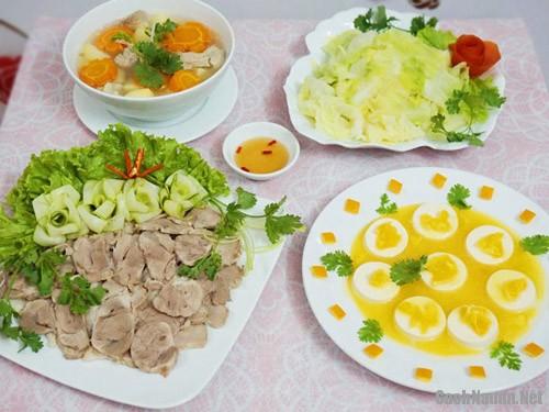 bua com 107 nghin - Bữa cơm ngon miệng ngày oi bức chỉ 107 nghìn