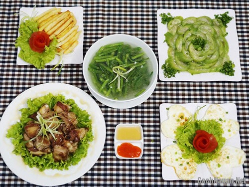 bua com 109 nghin - Vào bếp nấu bữa cơm chiều ngon chỉ 109 nghìn cho cả nhà