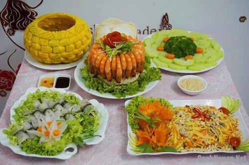 bua com 142 nghin cuoi tuan - Bắt mắt, ngon miệng với bữa cơm hấp dẫn cuối tuần