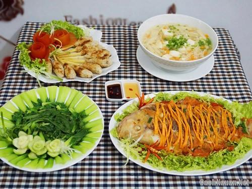 bua com chieu 101 nghin - Bữa cơm chiều hấp dẫn chỉ 101 nghìn