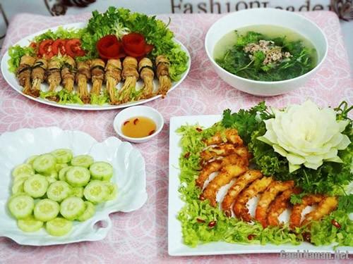 bua com chieu thu 7 - Bữa cơm ngon miệng chiều thứ 7