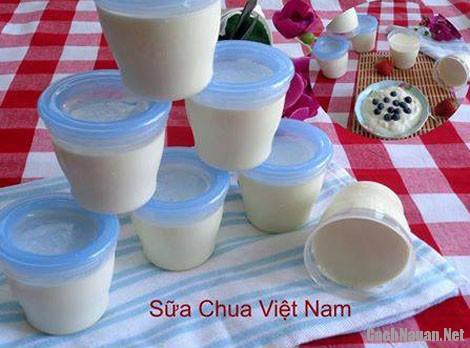 cach lam sua chua ngon - Cách làm sữa chua thơm ngon tại nhà