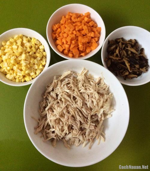 cach nau sup ga - Cách nấu súp gà thơm ngon, bổ dưỡng