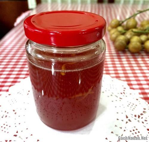 cach ngam nuoc quat hong bi 1 - Cách ngâm nước quất hồng bì mặn ngọt