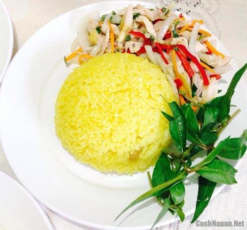 com ga hoi an 5 - Cách nấu món cơm gà Hội An thơm ngon chuẩn vị