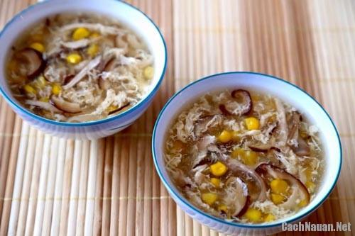 mon sup ga ngon - Cách nấu súp gà thơm ngon, hấp dẫn