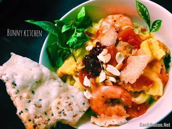 my quang tom thit - Cách nấu mỳ Quảng tôm thịt ngon tuyệt