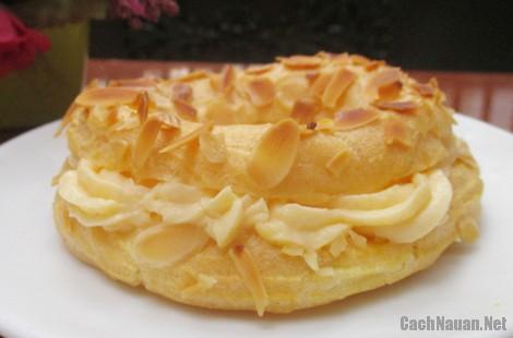 banh su kem vong xe 12 - Cách làm bánh su kem hình vòng xe thơm ngon mát dịu